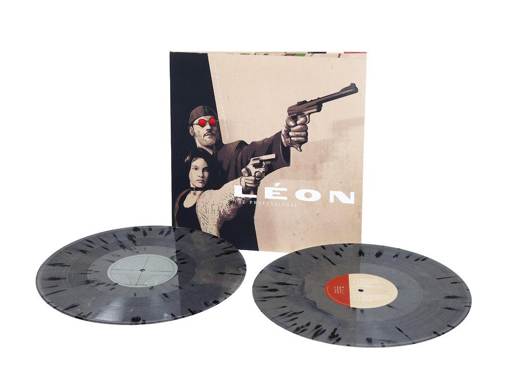 front panel and 'Gun Metal' vinyl