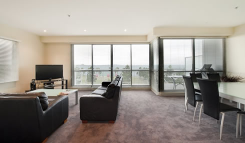 2 Bedroom Waterfront Apartment Apartment style suitable for up-to 5 guests.
