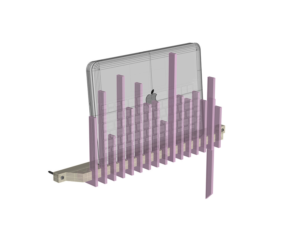 Vertical Line Computer Holder img-1.jpg