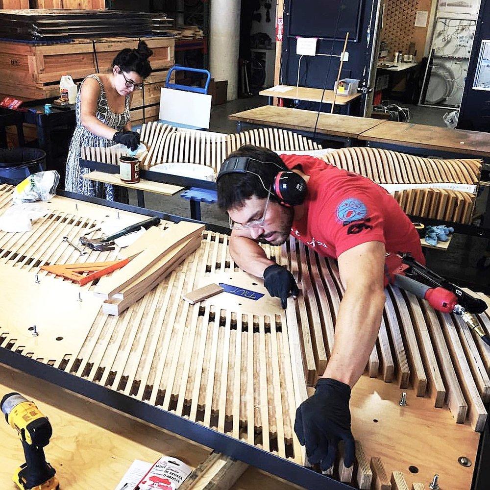 Fabrication in SF studio