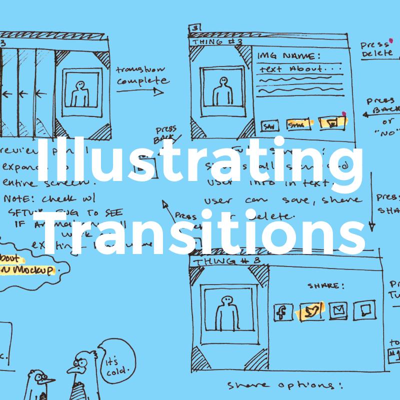 Illustrating Transitions