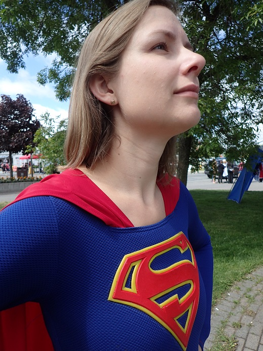 Supergirl Closeup