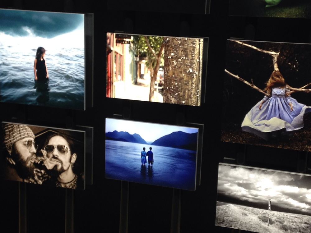 My photo right next to my friend  Brooke Shaden's  winning image!