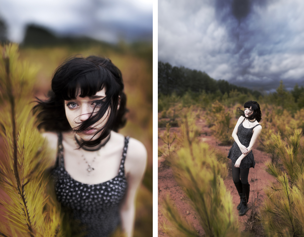 Model: Mia Green