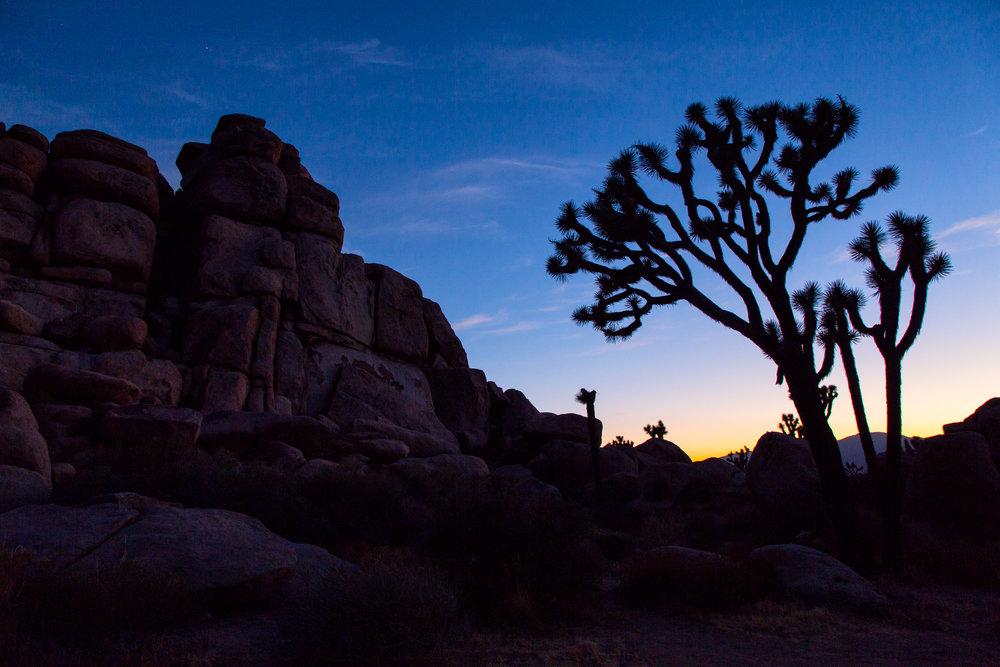 Sunset at Cap Rock.