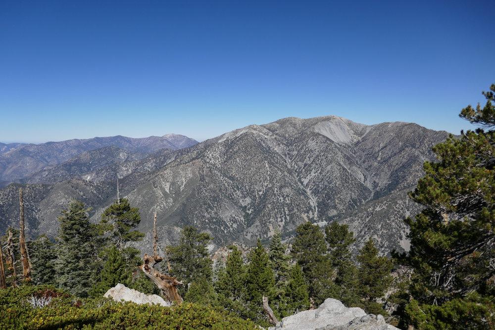 Mount San Antonio from the peak.