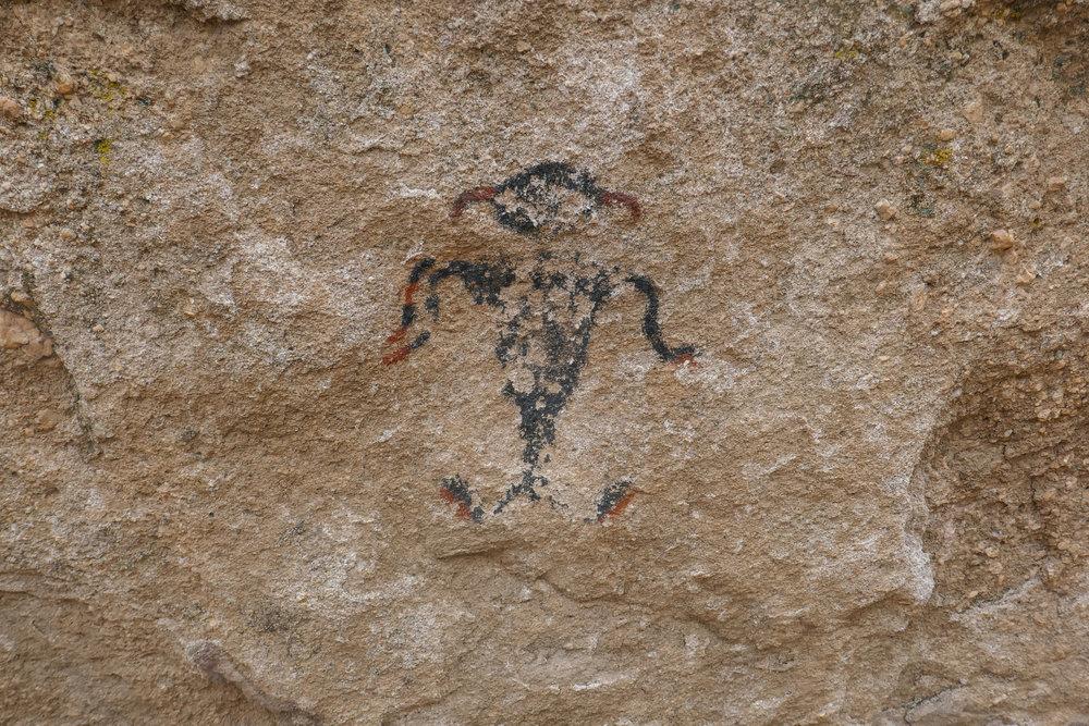 Tataviam petroglyphs .