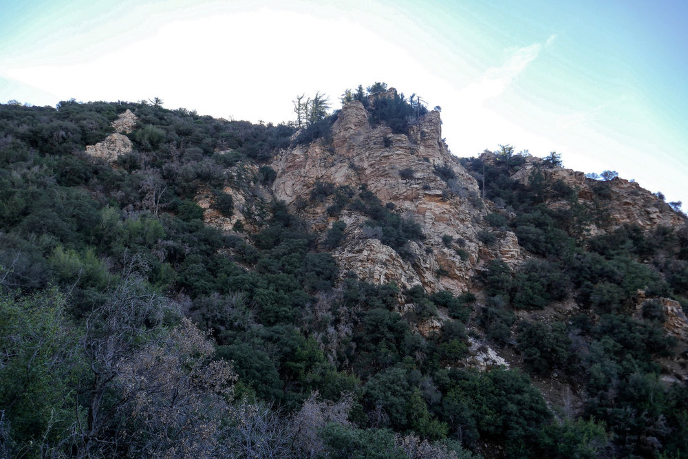 "This rock formation kind of looks like a castle.  I wonder if that's why it's called ""Castle Canyon""."