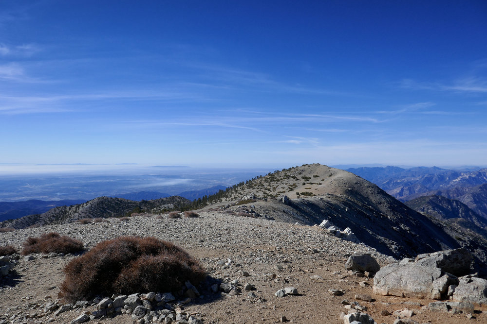 Looking over at West Baldy.