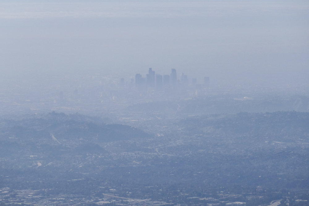 DTLA was not very visible today.