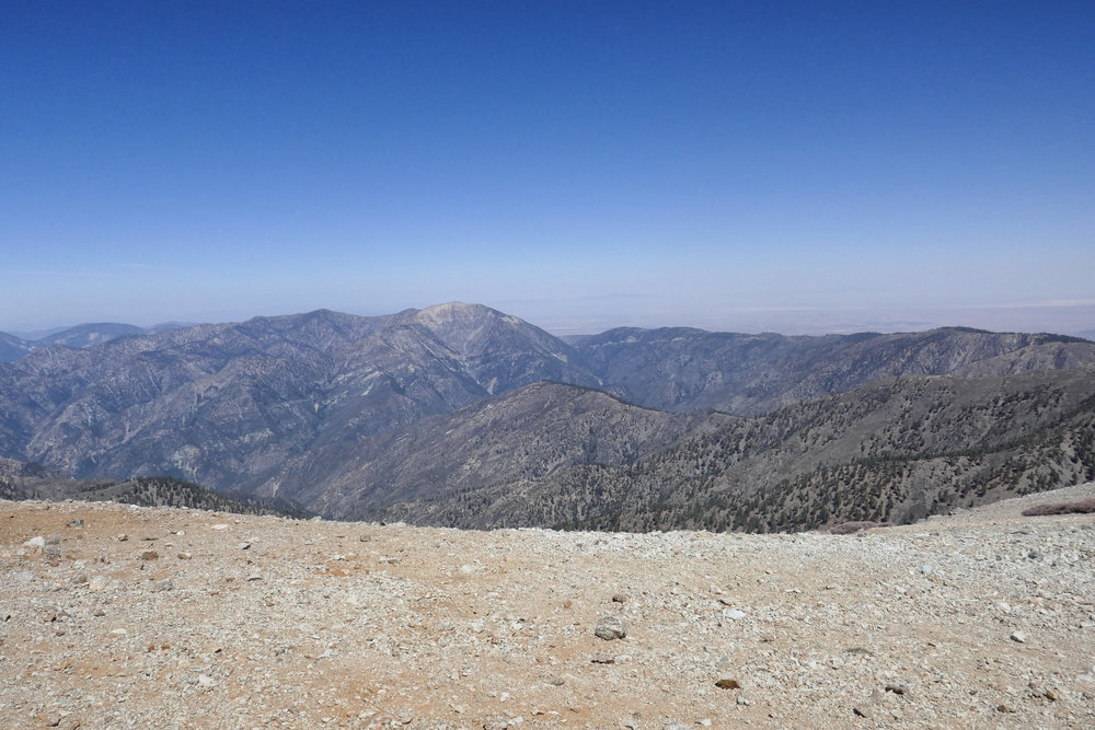 Another view towards Mt. Baden-Powell.