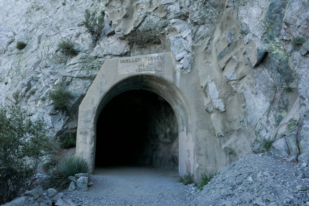 Mueller Tunnel built in 1942