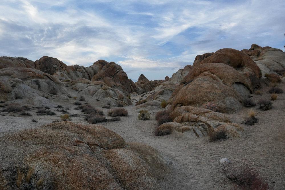 Impressive rock formations.