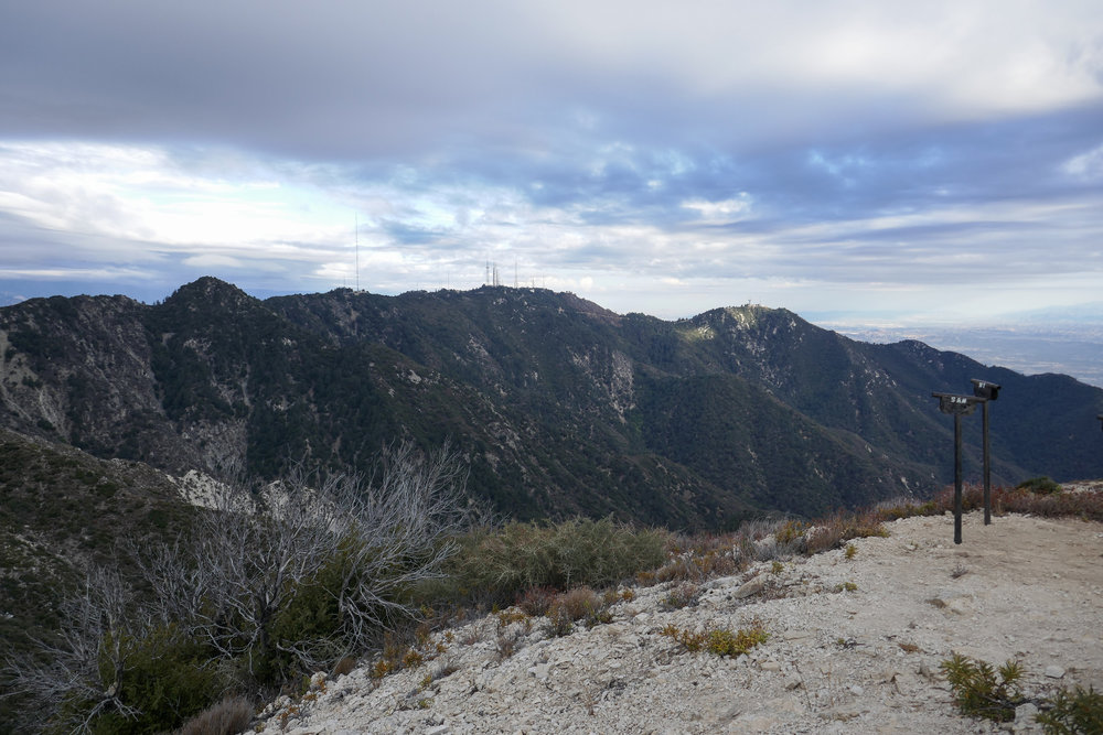 Looking towards Mt. Wilson.