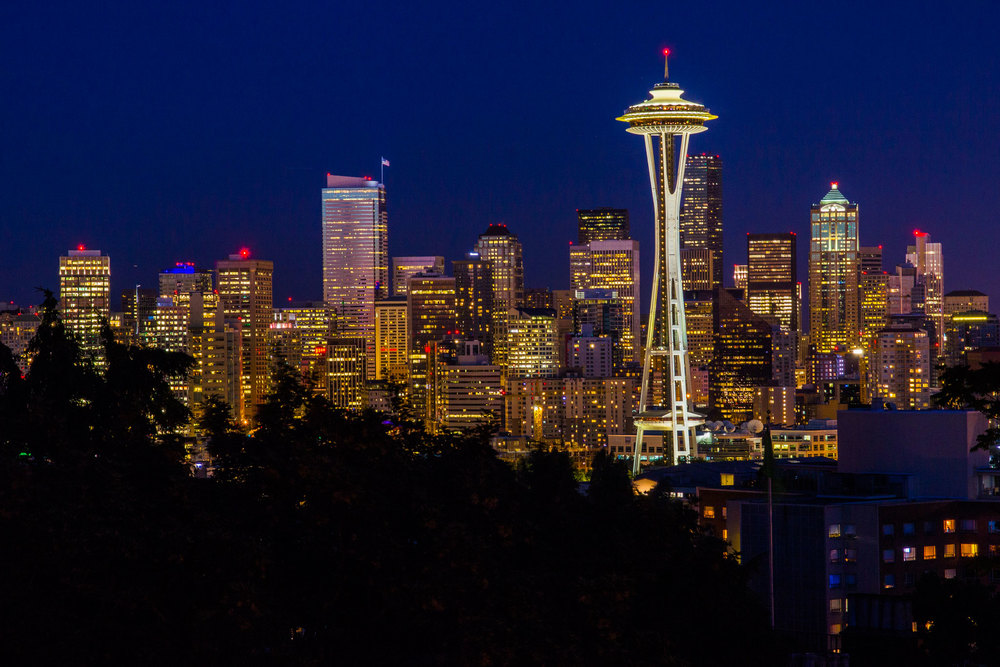"""Evening in Seattle"""