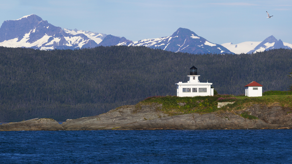 """Alaskan Lighthouse"""