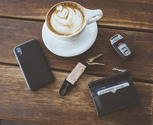 Do you want a Key Fob? Buy a T-shirt and you'll get one! Yup. That simple. Make your order from now until Friday (8/15 - 8/17) and receive a Free Key Fob!!! Go!! #lurosa #lurosamfgco #leathergoods #keyfob #zipwallet #ririzipper #drygoods #coffee