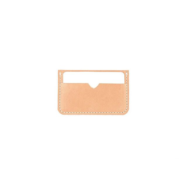 Updated the webshop with new small goods. Minimalist Wallet in Veg tan @HorweenLeather #lurosa #lurosamfgco