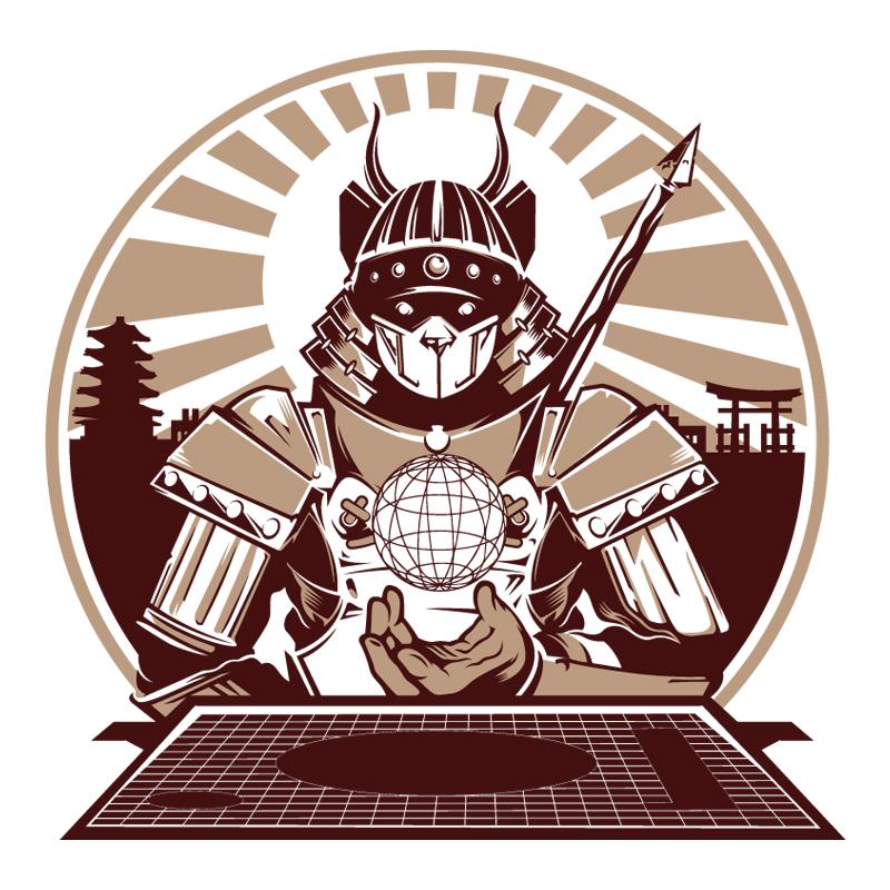 Samurai Panda - China