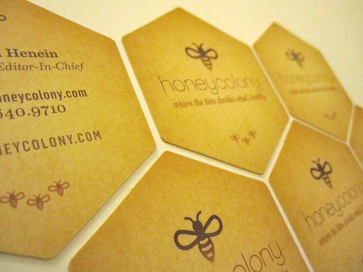Honey Colony Branding