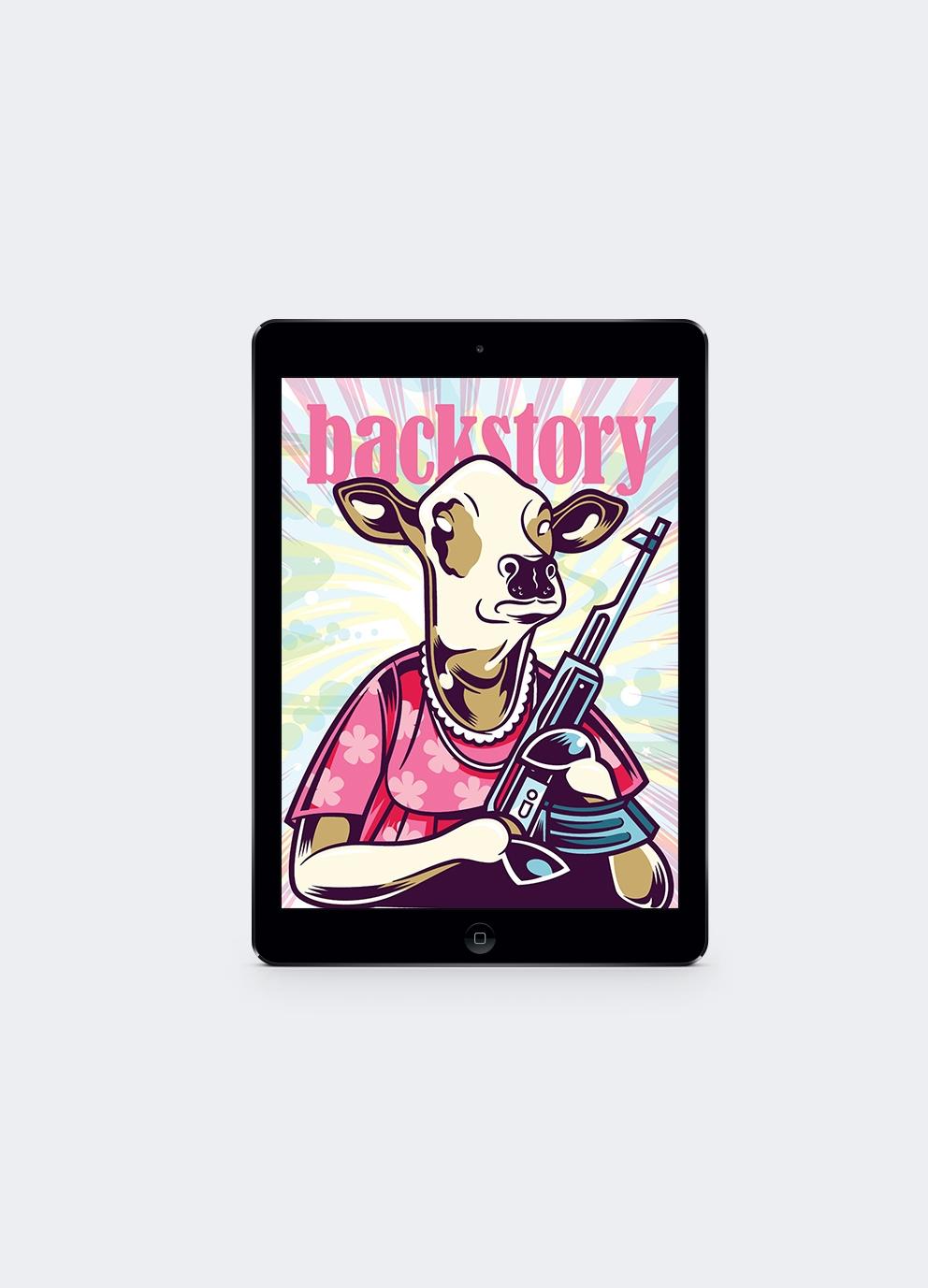BackStory Ipad Magazine