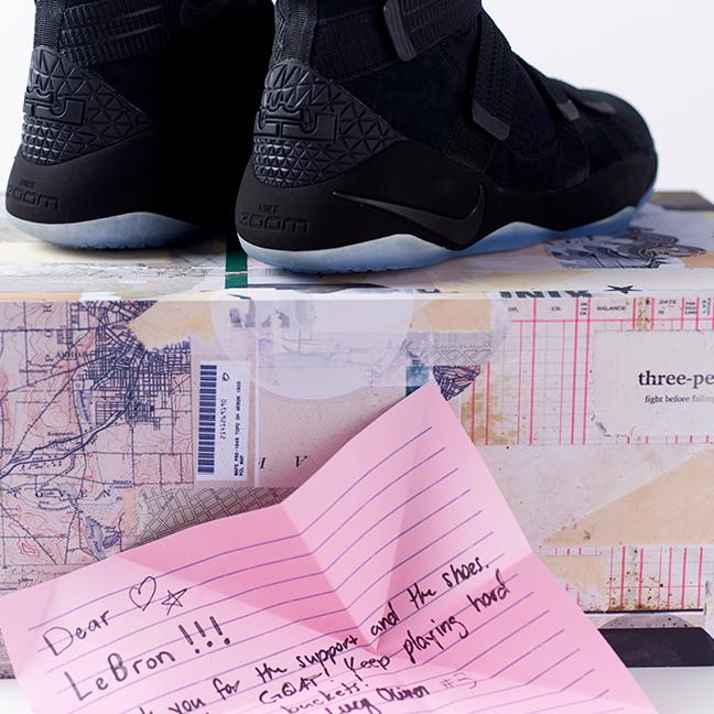 29112b744f0 Nike Basketball Lebron Good Luck Seeding Kit