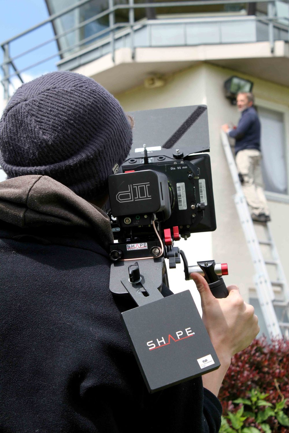 And action! The first take has been shot.