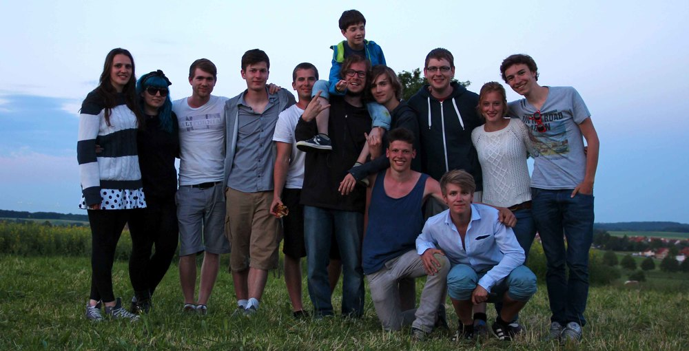 The last photo of the shooting. Many thanks to our great crew and the huge number of supporters.