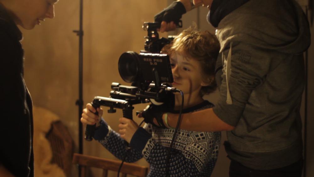 Vom Schaupieler zum Kameramann.