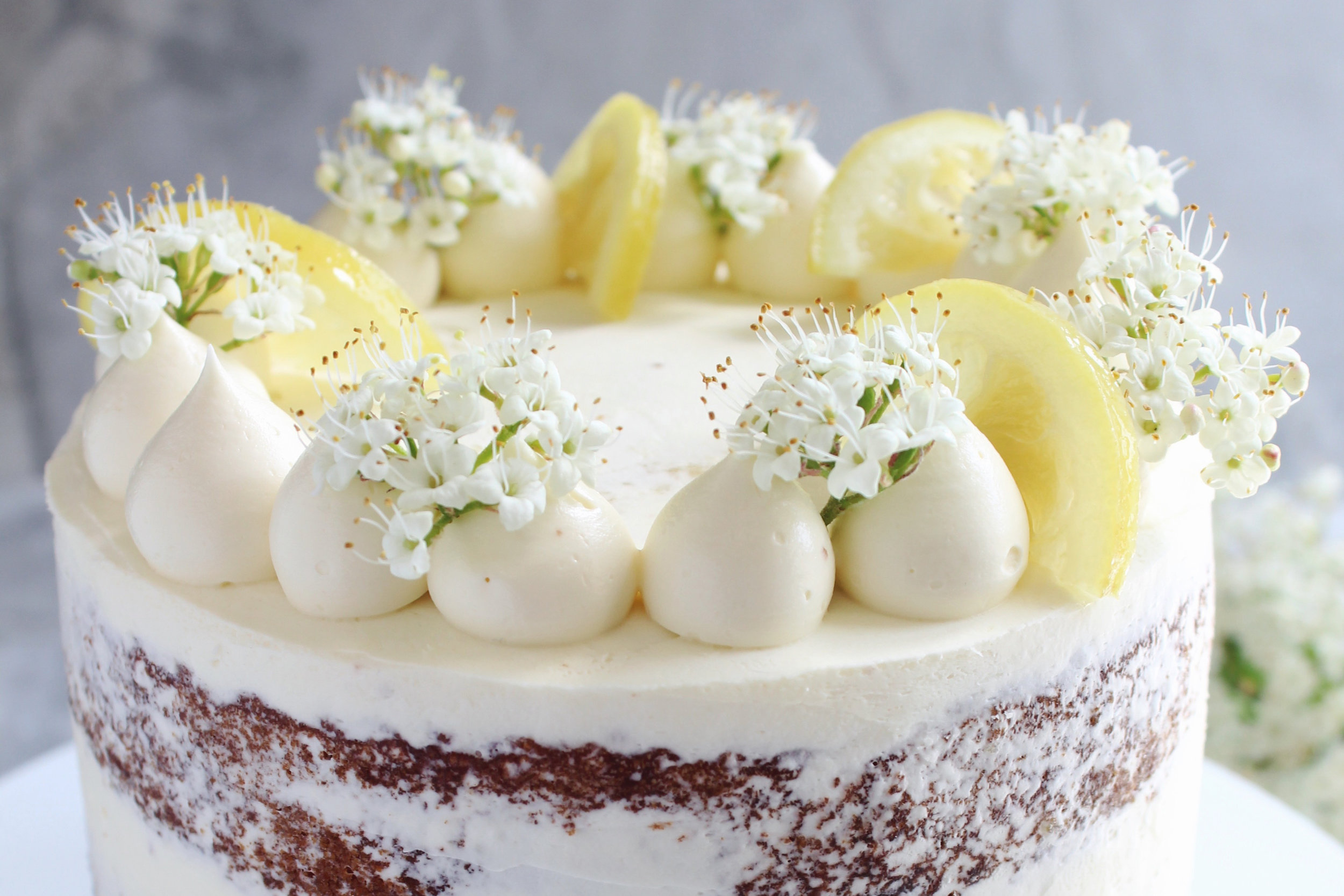 Pistachio And Lemon Syrup Cake
