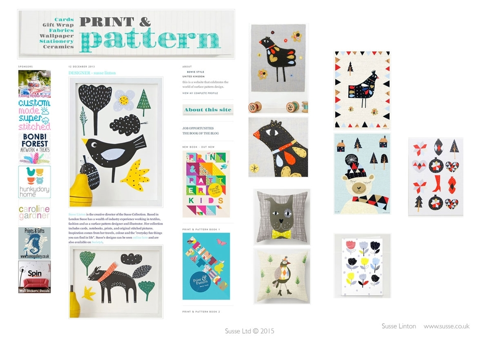 Print and Pattern Blog Dec 2013