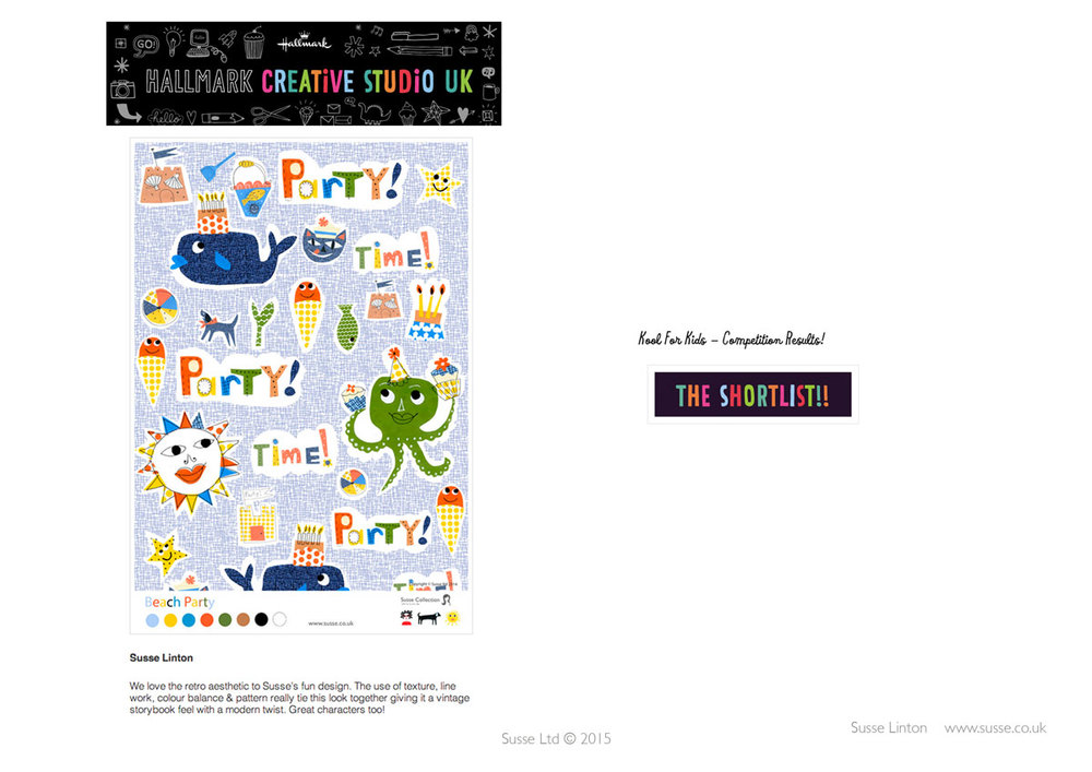 Hallmark Creative Blog Competition Kids 2014