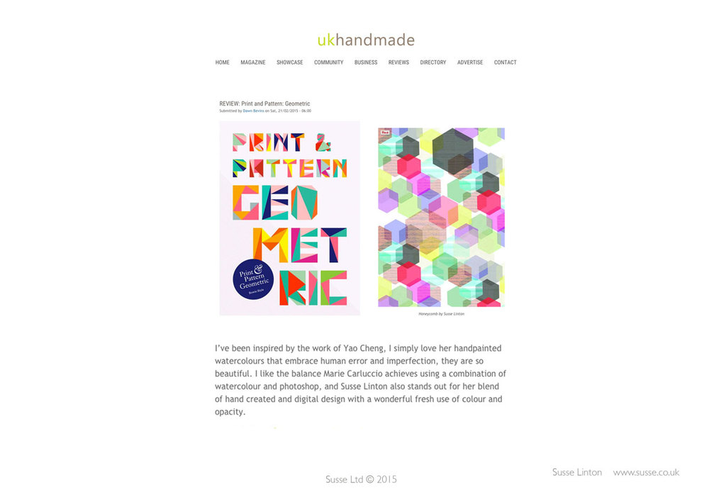 UK Handmade Blog 2015