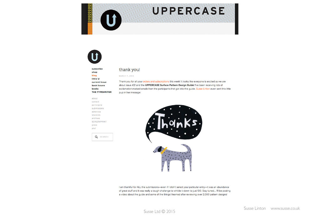 Uppercase Magazine Blog 2014