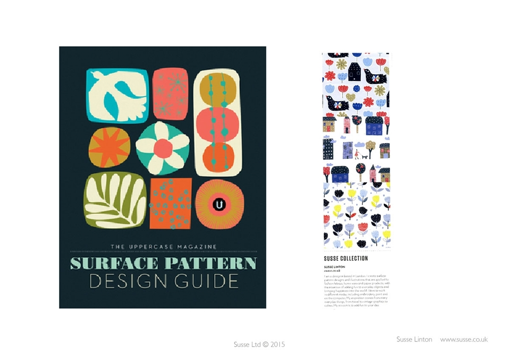 Uppercase Magazine Surface Pattern Guide 2014