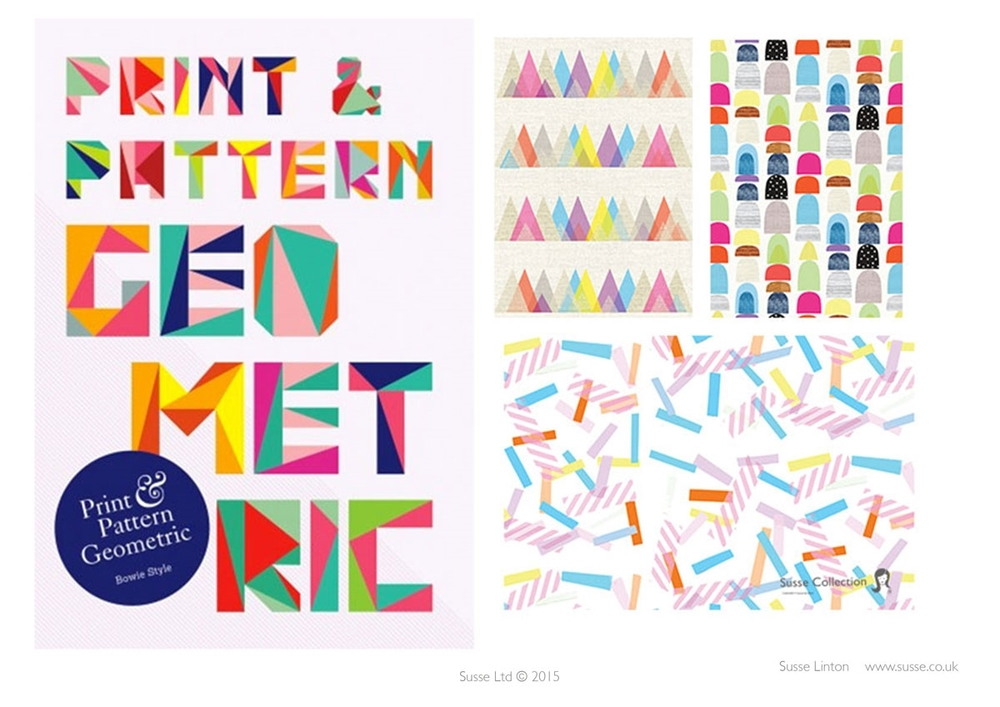 Print and Pattern Book Geometrics Published in 2015