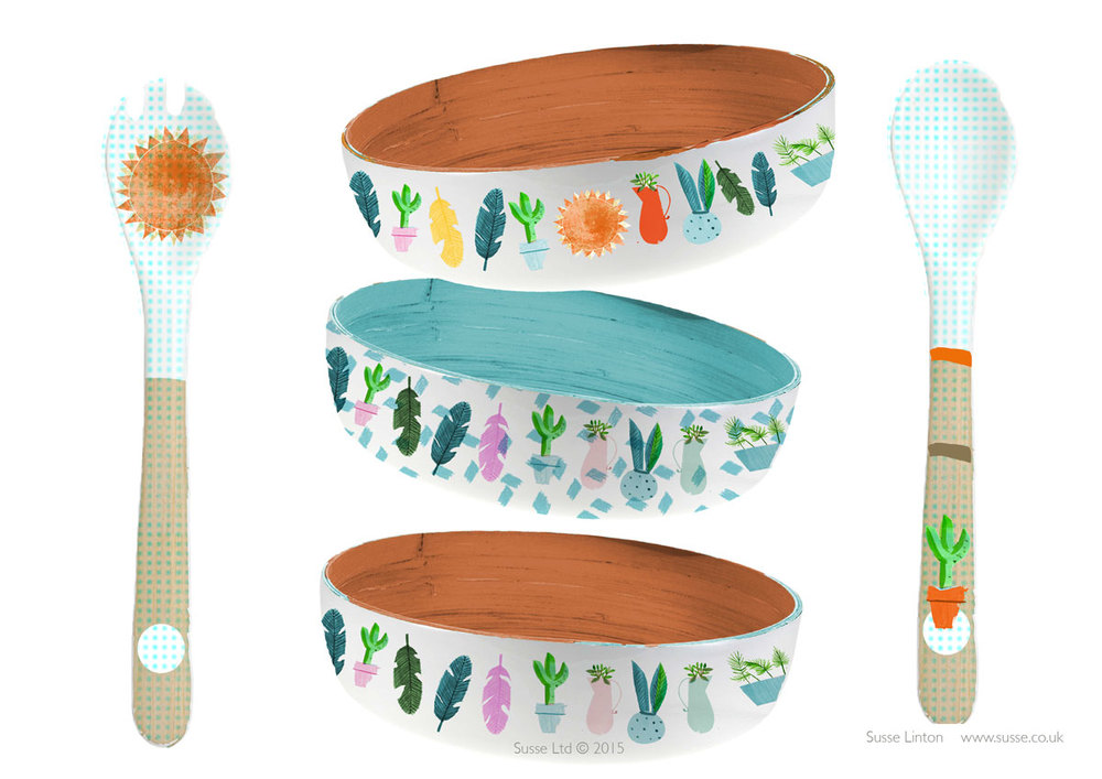 Cactus house home ware collection