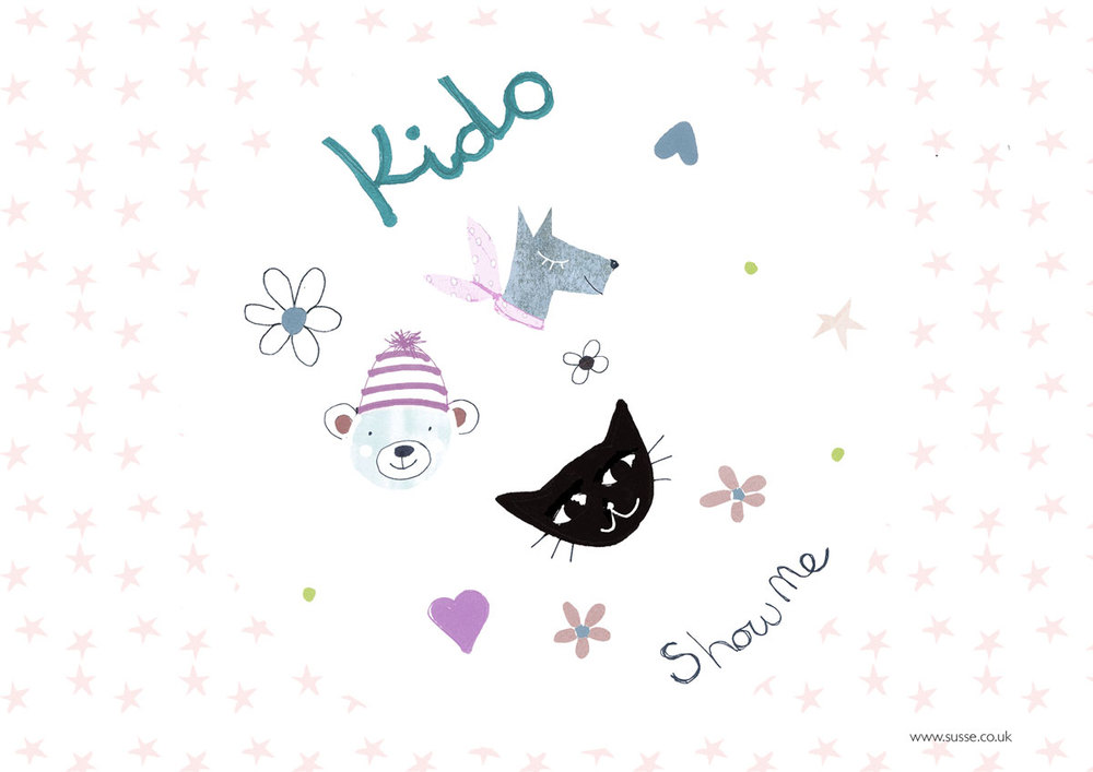 Welcome to the Susse Collection portfolio of kids patterns.