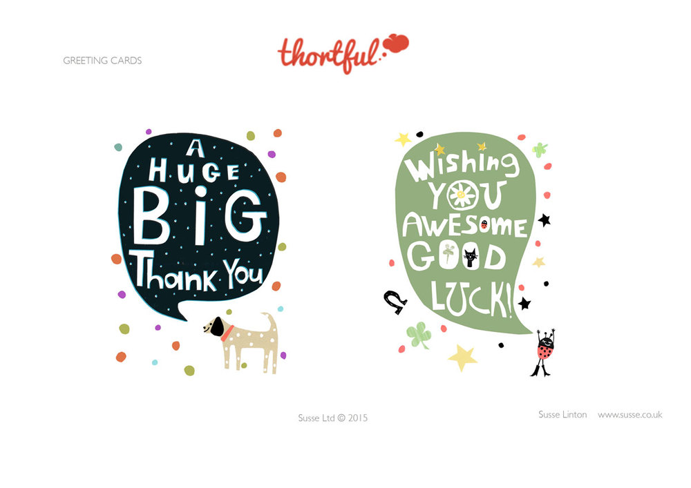 Thank you  Greeting Card designs