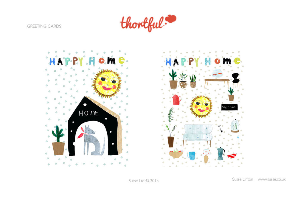 New home Greeting Card designs for Thortful.com