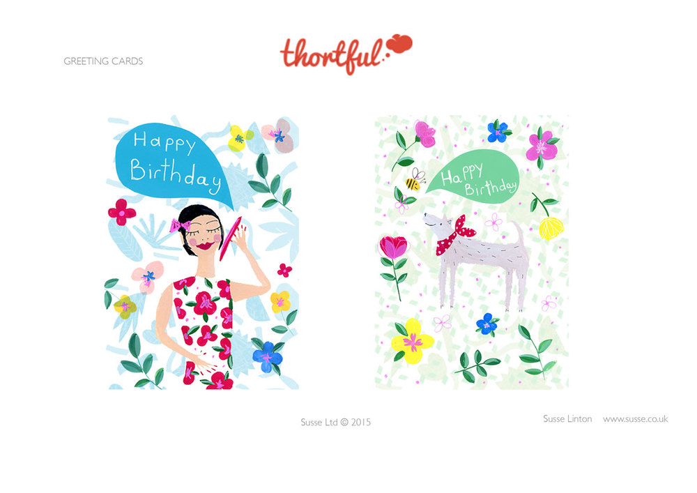 Happy BIrthday Greeting Card designs