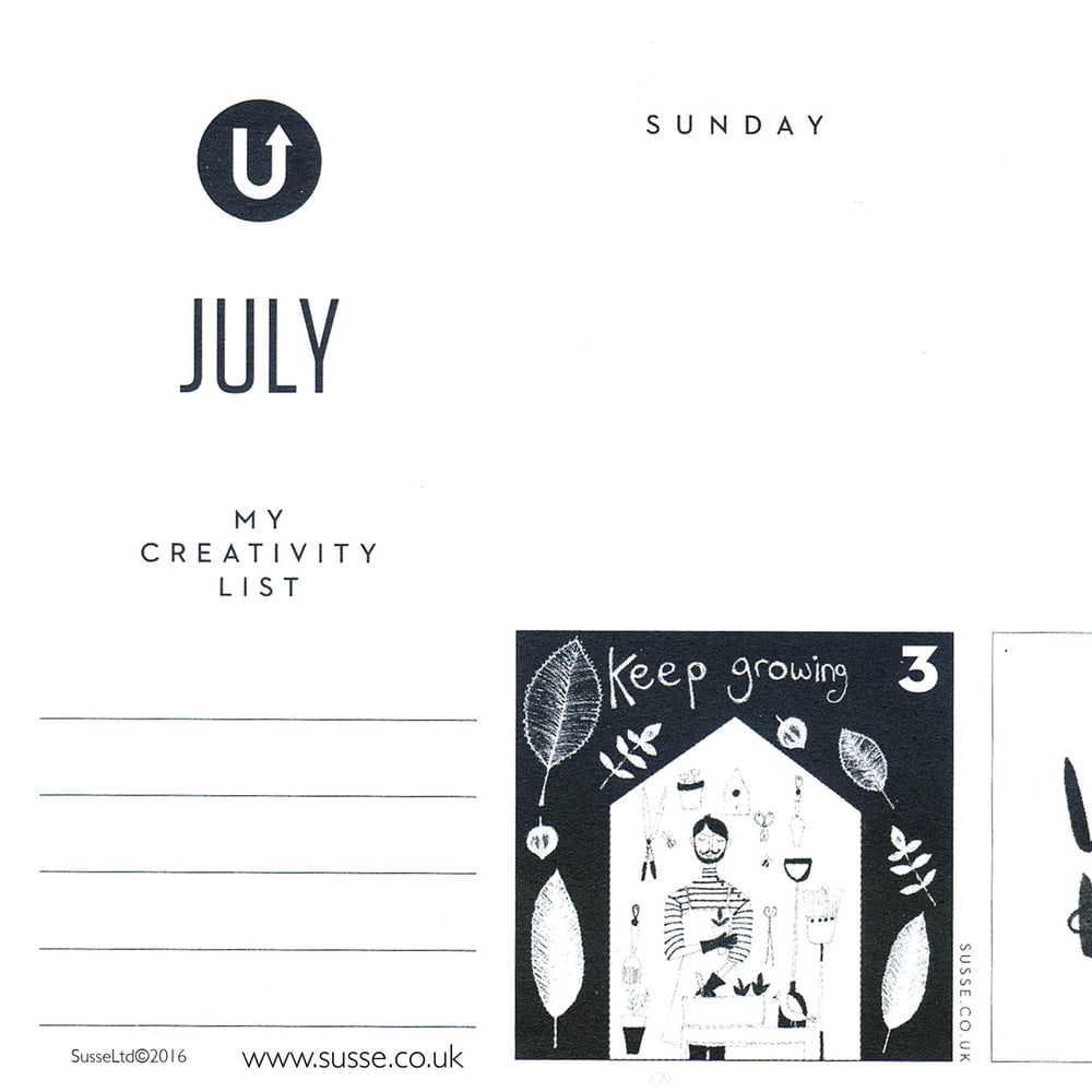 Uppercase magazine calendar of creativity Issue 28 Susse Linton