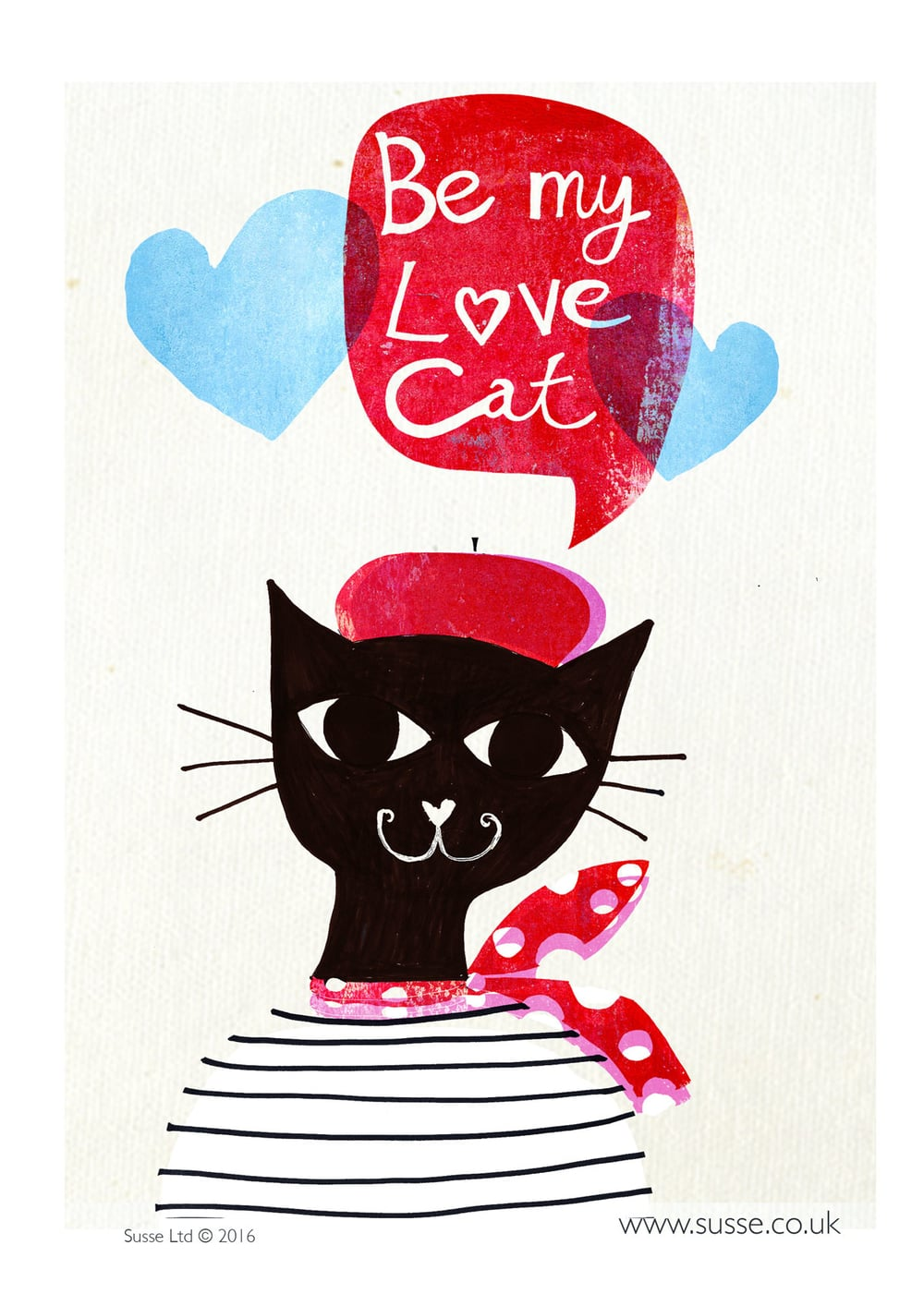 Love Cat Thortful Cards Susse Linton