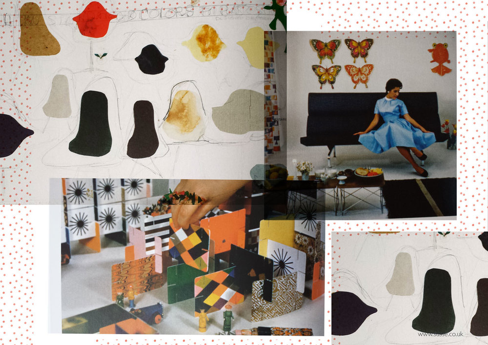 The book The world of Charles and Ray Eames
