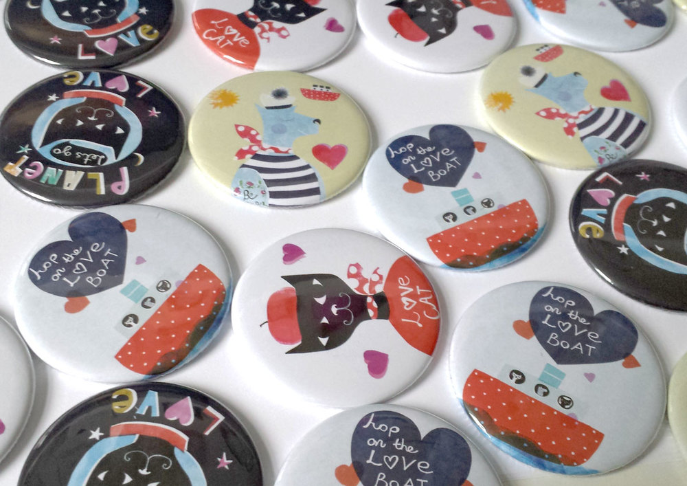 Pocket Mirrors Susse Linton