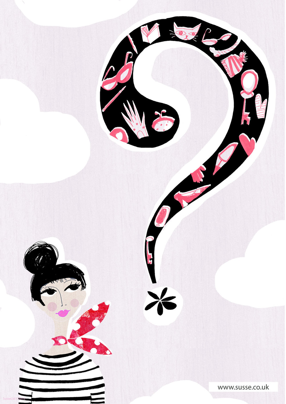 Illustration Friday Mystery Susse
