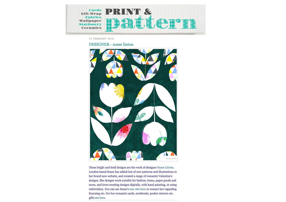 Print and Pattern Blog  Susse 2