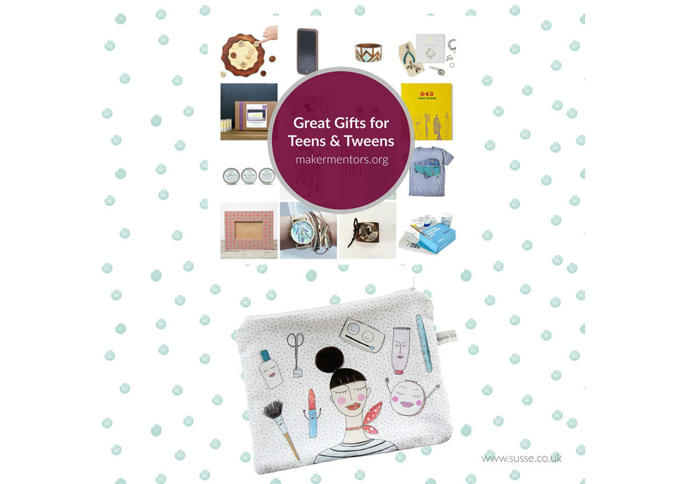 Maker Mentors Holiday gift guide 2015 For tweens and teens.