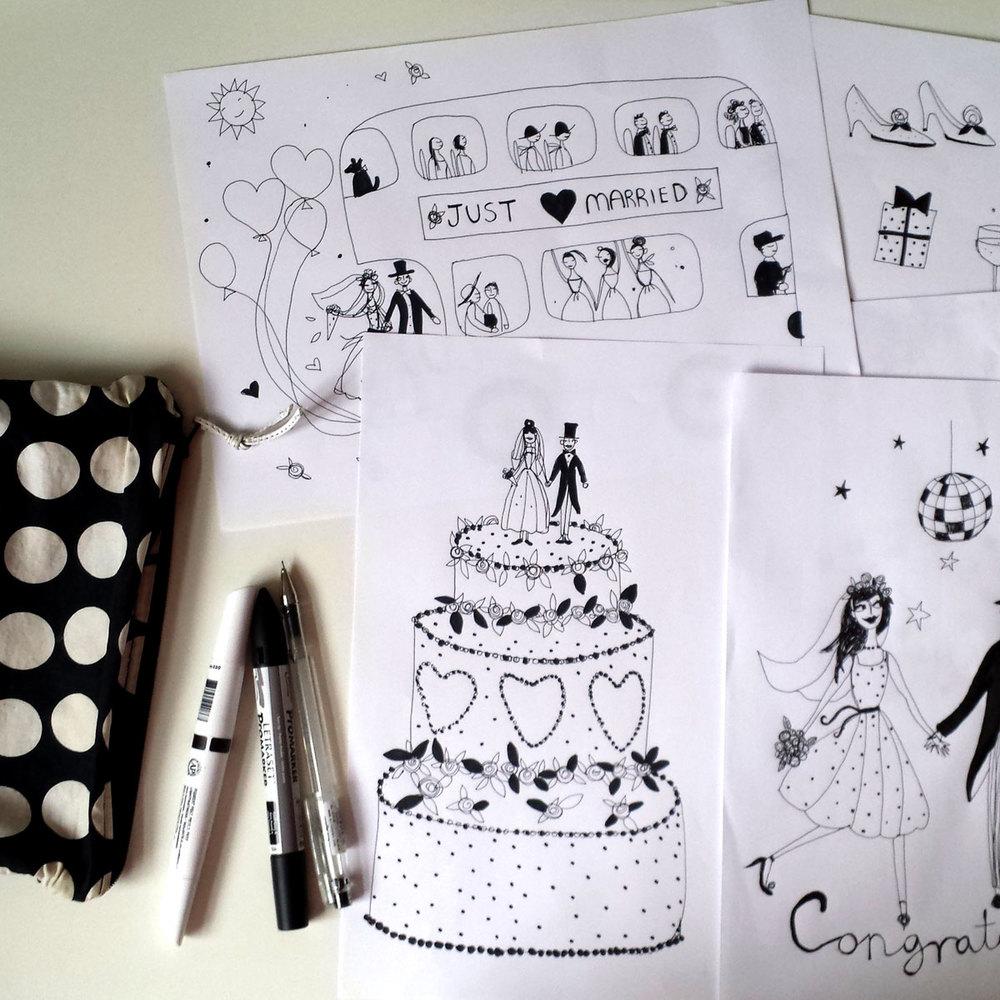 susse drawings
