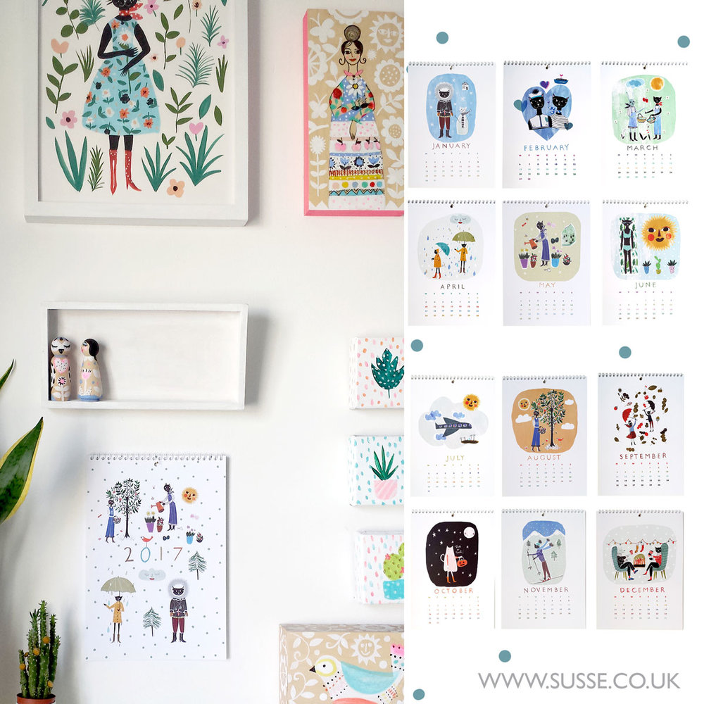 susse collection calendar 2017 wallcalender